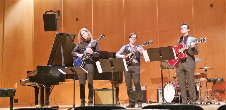 Performing at University of Michigan